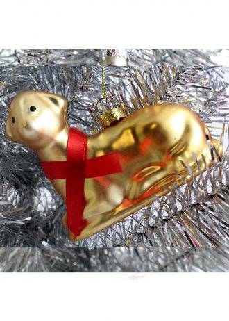 Butter Lamb Buffalo ornament