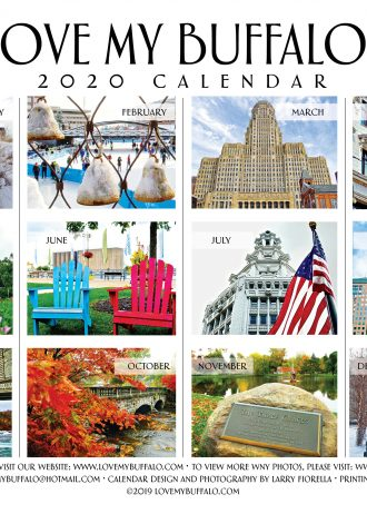 Love My Buffalo 2020 calendar 2