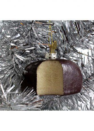 Sponge Candy Buffalo ornament