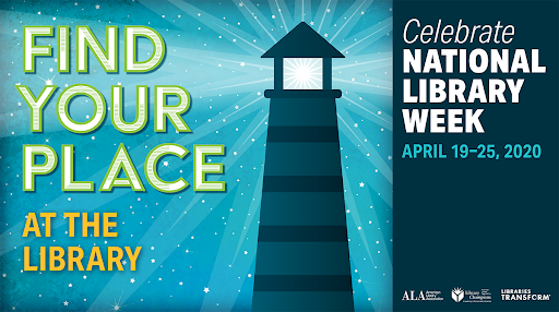 national library week 2020 banner
