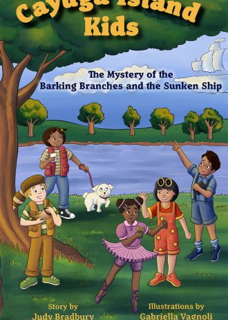 Mystery of the Barking Branches and a Sunken Ship – front cover – 9781952536144 sc